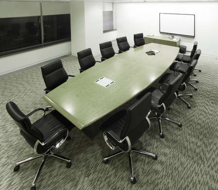 meeting room from above Stock Photo - 1440935