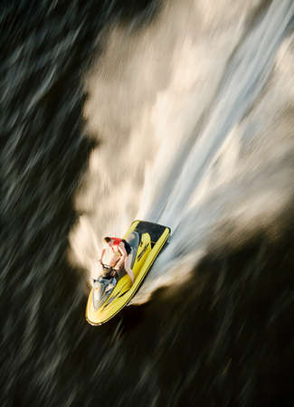 waverunner from above