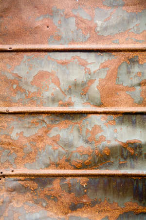 wet rusty tin as a background