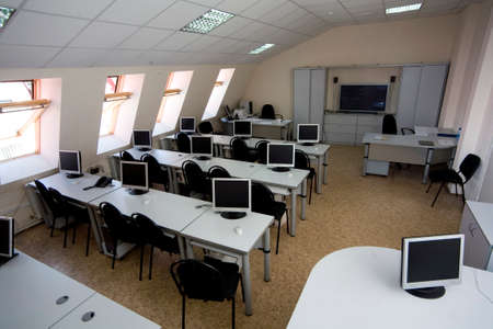 computer class in a garret