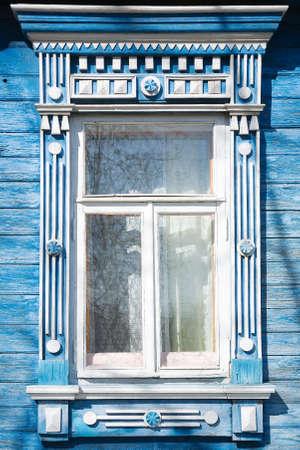 Great decoration Nalichnik on window from Kovrov-town, Russia