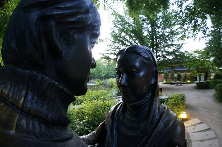 sonata: winter sonata statue