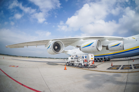 SEPANG, May 14 ― Malaysia is lucky as once again it became the only Asean country to welcome the arrival of the world's largest aircraft, the Antonov An-225 Mriya, here, today. The Ukrainian-designed cargo plane touched down at KL International Airpo