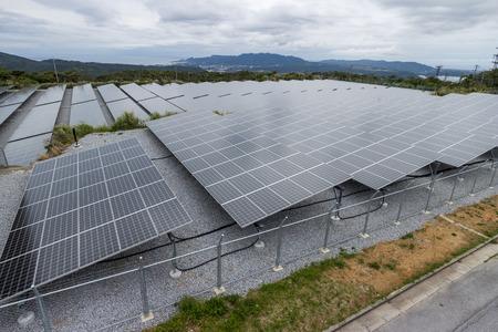 appearance: Solar panels Stock Photo