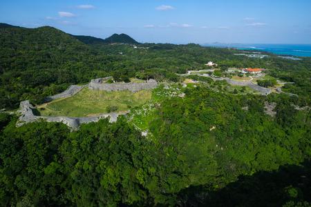 Nakijin Castle aerial 報道画像