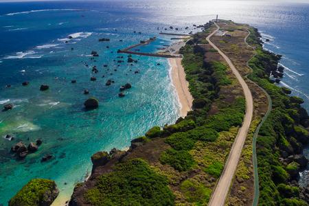 okinawa: Okinawa miyako iland observatory Stock Photo