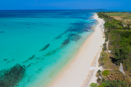 birdeye: Okinawa Miyako iland yonabaru Beach