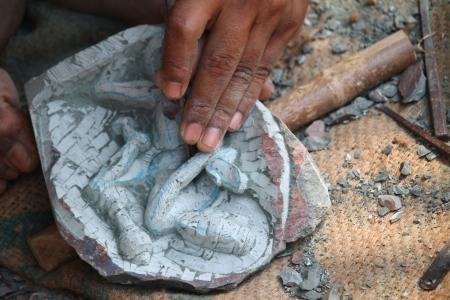 handcrafted shiva Stock Photo - 18623773