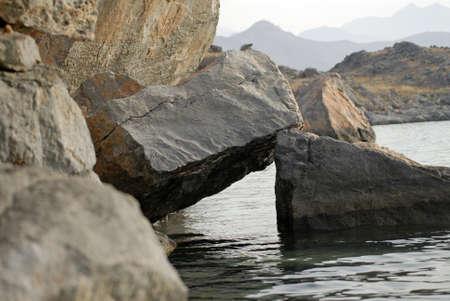 musandam: Boulders In Musandam