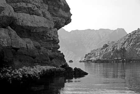 musandam: Sights In The Peninsula Of Musandam, In Oman
