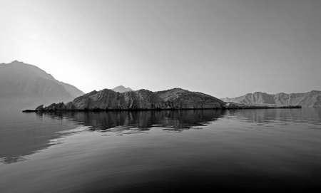 tectonics: Sights In The Peninsula Of Musandam, In Oman