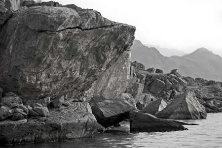 musandam: Tectonic Rocky Landscape