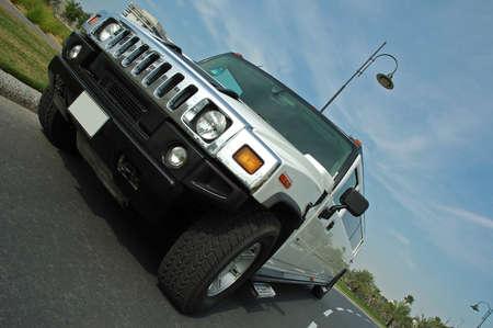 Hummer Limousine  Standard-Bild
