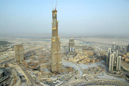 in escrow: Burj Dubai Development, Tallest Building In The World