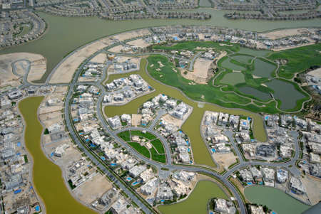 A Community Built Around A Large Golf Course