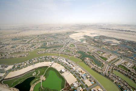 Community Around A Golf Course Imagens