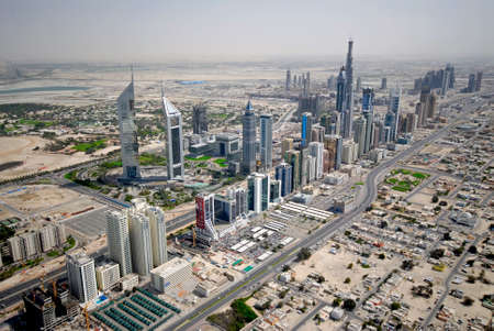 sheikh: Sheikh Zayed Road In Dubai