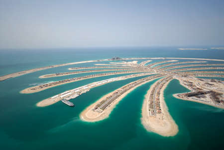 Jumeirah Palm Island In Dubai, Date Of Photo 13.4.2007