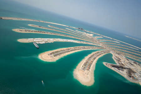 The Massive Jumeirah Palm Development In Dubai
