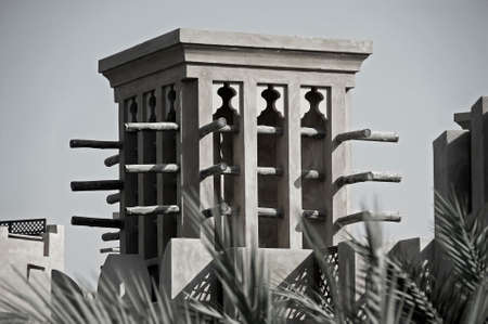 convection: A Windtower in the city of Dubai