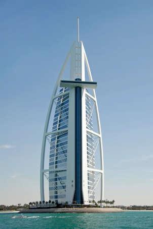 Burj Al Arab, Design Of A Sail & A Cross Facing The Ocean Editorial