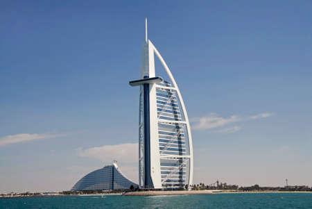 hotel stay: Burj Al Arab & Jumeirah Beach Hotel
