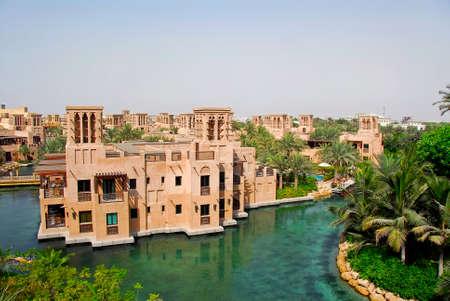 bygone: Madinat Jumeirah In Dubai Editorial