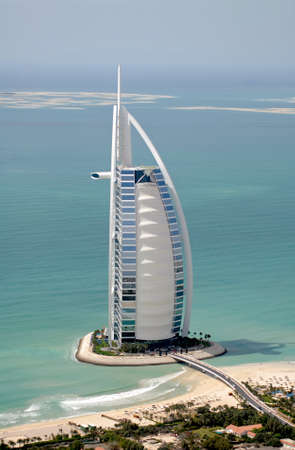 Burj Al Arab & The World Development Out In The Sea