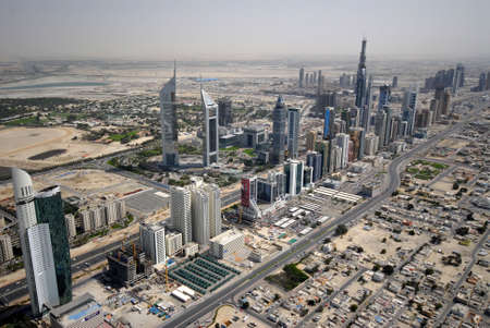in escrow: All The Buildings On Sheikh Zayed Road