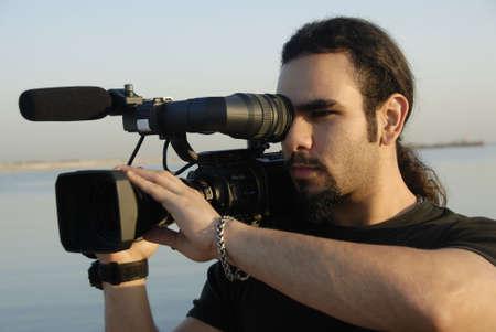 filming: Cameraman