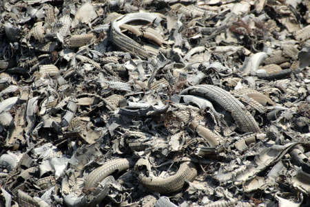 trashed: Junkyard Of Shredded Tires