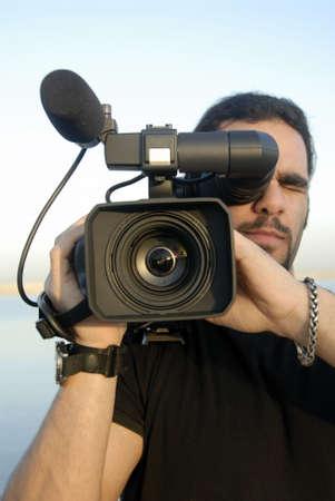 Reportage Stock Photo