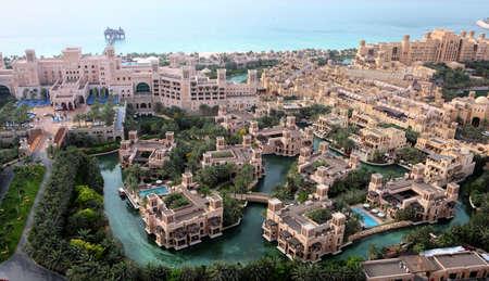 Classic Architecture Of Al Qasr And Madinat Jumeirah