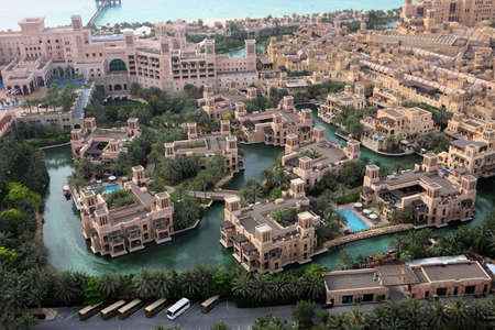 Architecture & Waterways Of Al Qasr And Madinat Jumeirah Editorial