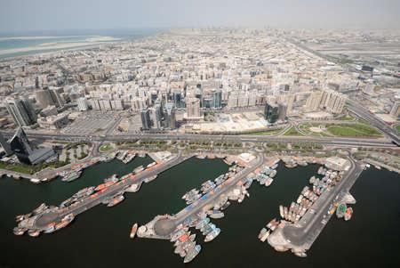 Dhow Port In Deira In Dubai