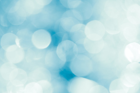 blue circle: Festive abstract bright blurred  white and blue background Stock Photo