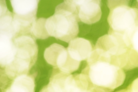 octahedron: Abstract green background with white blurred shapes in the form of an octahedron