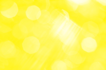 glare: Abstract yellow background with white rays and sun glare Stock Photo