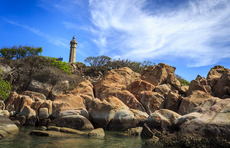 back and forth: This lighthouse was designed by a French architect named Chnavat to guide ships to go back and forth. The construction started in February 1897 and was completed by the end of 1898, and the lighthouse was put in operation in 1900. To mark the construction