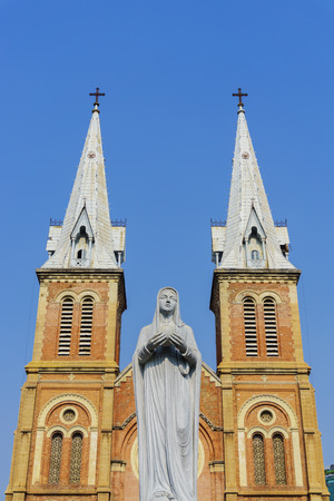 vierge marie: Church and virgin Mary mother