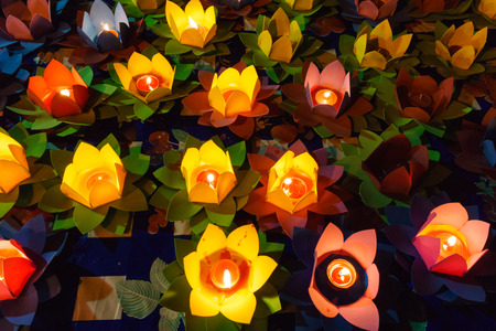 lotus lantern: Light lotus lanterns