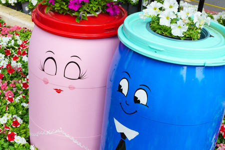 to confess love: Two barrels are loving