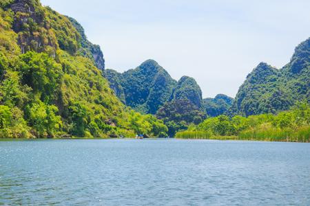 trang: Beautiful river in Trang An