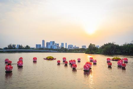 The landscape of Saigon: phong cảnh đẹp của thành phố lúc hoàng hôn Kho ảnh