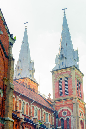 crown spire: The church Stock Photo