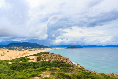 coastline: Dam Mon coastline Stock Photo