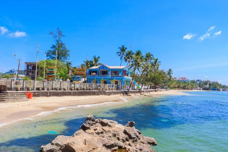 tropical beaches: Dinh Cau beach, Phu Quoc