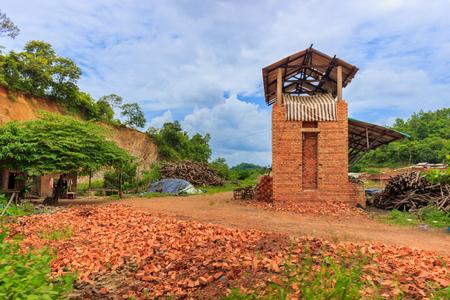 brick kiln: Old brickyard