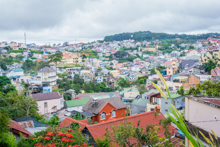 dalat: Cityscapes of Dalat city Stock Photo