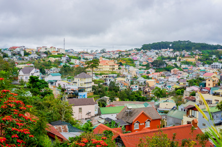 dalat: The cityscapes of Dalat city